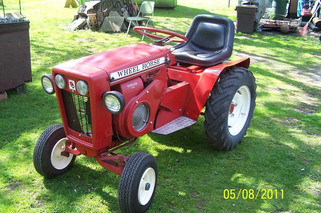 1964 Wheel Horse 1054 # 1