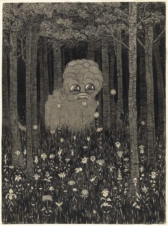 Sidney Sime - The Wily Grasser (1923)