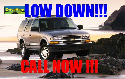 Chevrolet Blazer 2001 at Drivehere.com for only $500.00 Down Payment