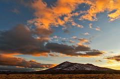 DSC_0045-47 san francisco peaks sunset hdr 850 (guine) Tags: sunset clouds plants highdesert kaibabplateau hdr qtpfsgui luminance mountain sanfranciscopeaks