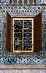 Harem window, Topkapi palace, Istanbul