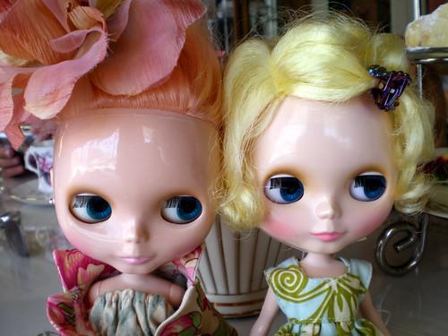 Mademoiselle Rosebud and Isadora Reiko at Tea