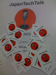#JapanTechTalk swag ready for the Apple Store in Nagoya tonight.