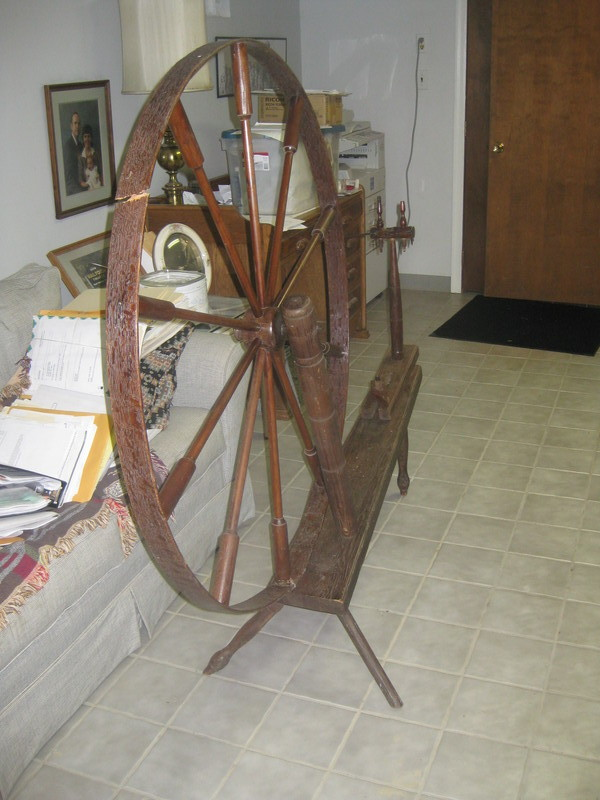 Anne's Spinning Wheel