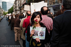 (Hughes Lglise-Bataille) Tags: paris france students iran demonstration 2009 manif manifestation lections etudiants elctions