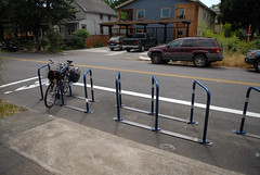 new bike corral - SE 28th and Pine-9