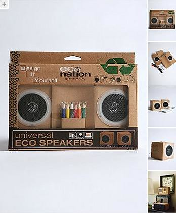 DIY Eco Speakers