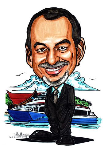 Caricature for Bintan Resort Ferries