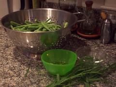 Green Bean prep