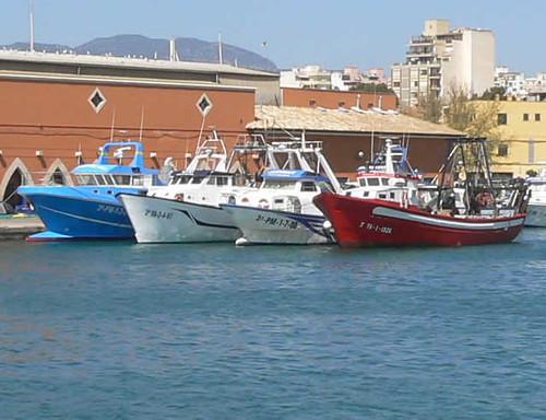 varios pesqueros