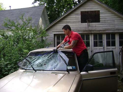 Windshield removal
