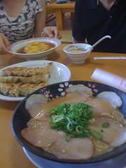 餃子の王将 京都北白川店 料理の数々