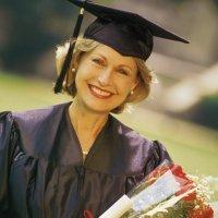 adult female grad