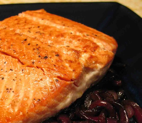 ... salmon with agrodolce sauce salmon with sauce agrodolce salmon with