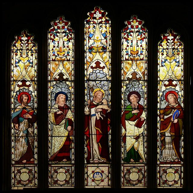 East window, Misterton - St. Leonard