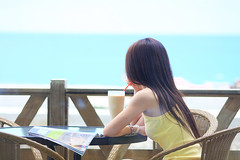(nodie26) Tags: ocean sea portrait people girl hotel tour taiwan oceans  hualien