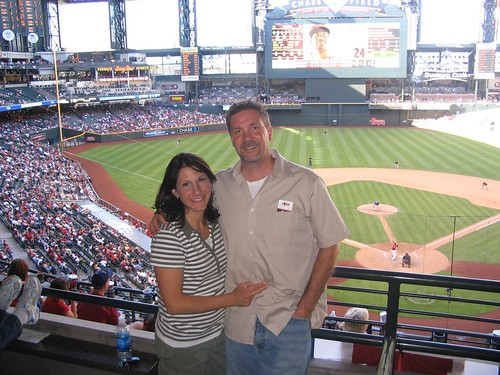 """Suite"" view of Chase Field"