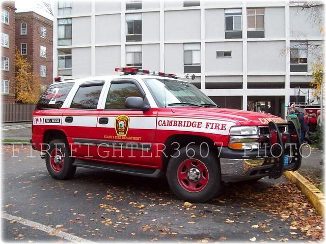 cambridge boston fire cambridgedivison2 2004chevytahoe uptowndeputy