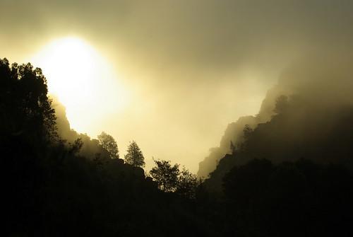 prehistoric sunrise