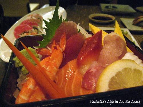 Sushi Sankai- Chirashi Bowl