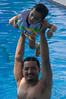 Summer (irfan cheema...) Tags: pakistan summer man water pool swim father son saif irfancheema 'familygetty2010'