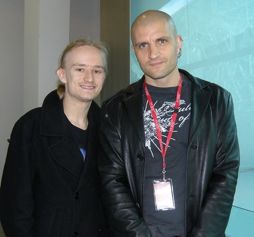Me with China Mieville at 2009 Melbourne Writers Festival