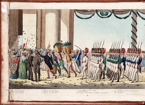 018 Solenne processione vaticana del Corpus Domini  diretta da uno de cerimonieri di Sua Santita` Gregorio XVI 1839
