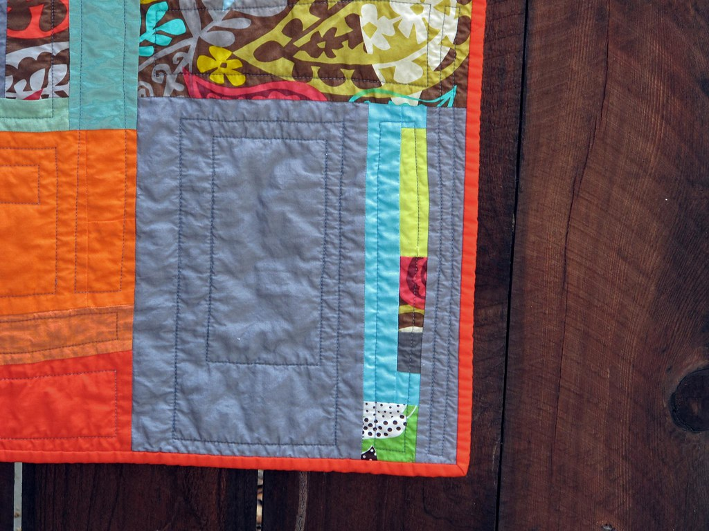 Pick & Choose Quilt Detail
