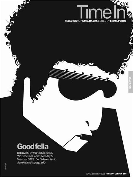 Noma Bar Bob Dylan