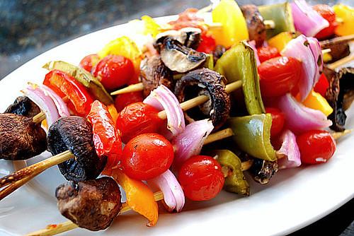 grilled vegetable skewers 3