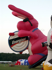 Plano Balloon Festival - The Energizer Bunny