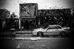 Shatilla IV (Alex Worren) Tags: blackandwhite bw lebanon rain palestine refugee raindrops beirut shatilla