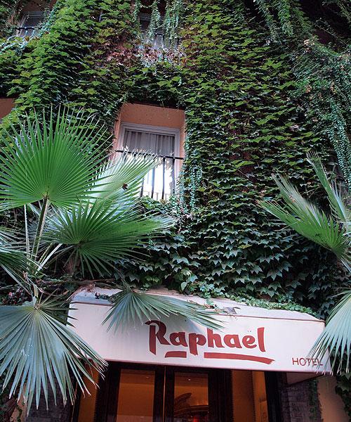 Hotel Raphael Rome, Italy