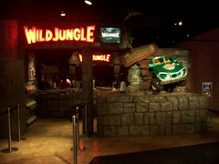 L'attraction Wild Jungle chez joypolis (Dacobah) Tags: voyage japan tokyo sega japon attraction japonais joypolis wildjungle