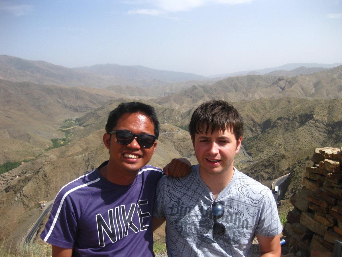 High Above the Atlas Mountains