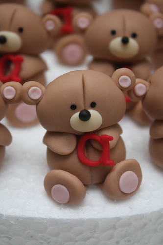 teddy birthday cuppies