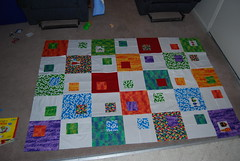 Very Hungry Catepillar Quilt