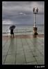 Días de lluvia (Josepargil) Tags: mar lluvia mujer farola gijón asturias nubes nublado paraguas barandilla paseomarítimo josepargil
