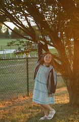 Kiddo Under Tree 3