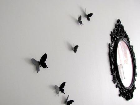 decoracion-pared-mariposas