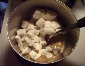 added marshmallows