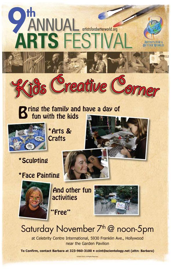 AFABW Kids Creative Corner: 11/7/09