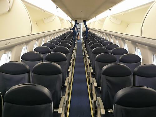 Embraer 170 Cabine