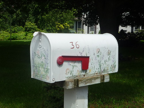 American painted Mailbox