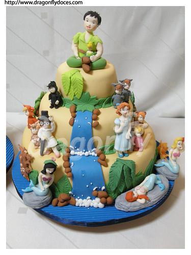 Peter Pan Cake 1 / Bolo Peter Pan 1