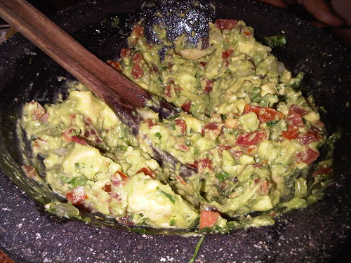 Fresh Guacamole @ Rosa Mexicano in NYC