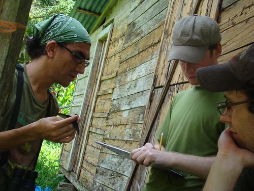 Los voluntarios de Alaska y San Francisco trabajan con Daniel Martínez