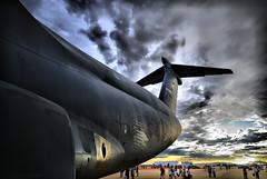 Tail End of Sunset (Rick Insane Diego...) Tags: airplane sigma 1020mm miramarairshow dphdr