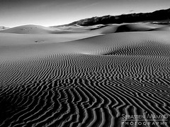 Death Valley National Park (Antipod Photography) Tags: california park black nature landscape photography death nationalpark sand photographer photographie unitedstates desert image noiretblanc dunes dune picture sable landmark national valley deathvalley parc mamy californie photographe etatsunis payage whitesebastien mamysebastien