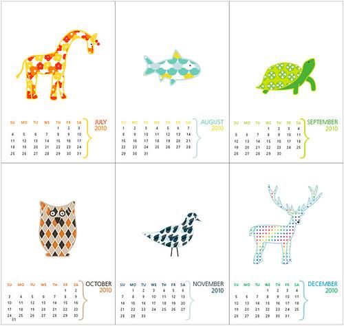English Muffin's 2010 Calendar